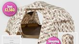 Gucci flogging £2,650 tent and matching sleeping bag for an extra £865