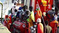 Spain rescues 65 migrants off Gran Canaria