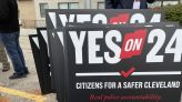 Group rallies for police reform ahead of Safer Cleveland ballot initiative