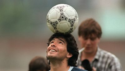 RIP Diego Maradona, Soccer's Tragic Rock 'n Roll Star