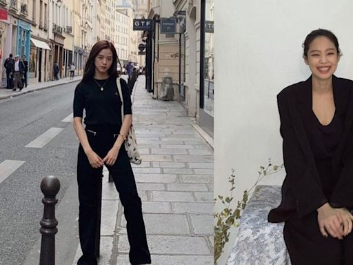 Blackpink Jisoo、Jennie等女星的顯瘦全黑穿搭法|Theory、Self-Portrait、alexanderwang.t等牌子的黑色連身裙、西裝外套單品網購推介