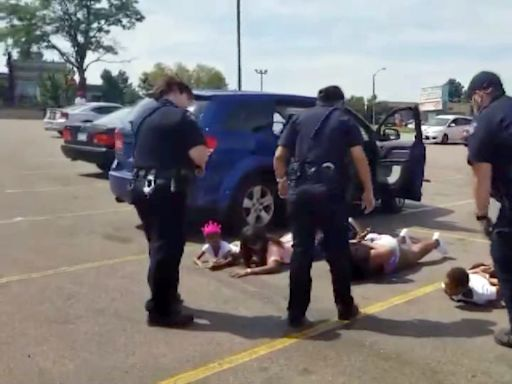 Black family handcuffed at gunpoint by police sues Aurora, Colorado