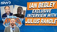 Julius Randle ready to build off last season, excited about RJ Barrett, Mitchell Robinson making the leap this year | NBA Insider Ian Begley