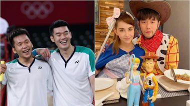 東京奧運 羽毛球男雙得主與周董昆凌有驚人巧合 網友笑稱是真愛