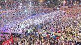 高雄夢時代跨年 韓國瑜、蕭敬騰陪民眾迎接2020