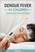 Dengue Fever In Children: Symptoms, Treatment And Home Care
