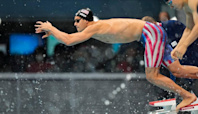 Former Lawrence resident Michael Andrew wins Olympic gold in record-setting relay