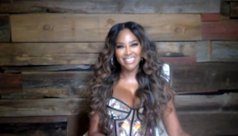 RHOA's Kenya Moore Slays On Instagram After Being Eliminated from 'Dancing With The Stars'