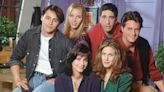 Courteney Cox just shared a major throwback to celebrate Friends' 27th anniversary
