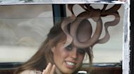 How Princess Beatrice owned the 'toilet hat' at Kate and William's wedding