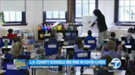 5,207 COVID cases among LA County K-12 students in past 2 weeks