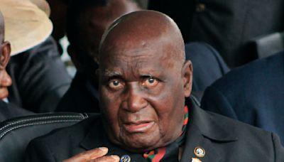 Zambia's 1st president, Kenneth Kaunda, dies at age 97