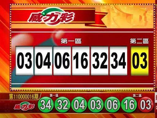 2/25 7.2億威力彩獎號出爐! 雙贏彩、今彩539也開獎囉