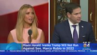 Ivanka Trump Will Not Run Against Sen. Marco Rubio In 2022