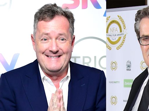 Rupert Everett says Piers Morgan is 'like Dr Jekyll and Mr Hyde' after filming for 'Life Stories'