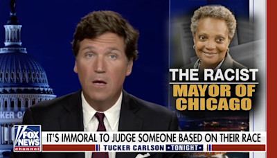'Lori Lightfoot is a monster': Tucker Carlson compares Chicago mayor to Nazi over policy favouring Black journalists