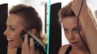 Watch Charlize Theron Shave Her Head In Epic 'Mad Max' Transformation Throwback