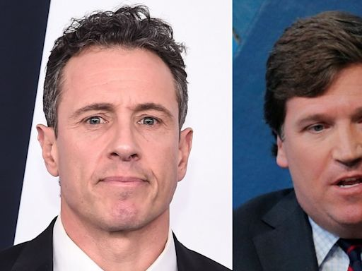 Chris Cuomo calls Fox News a 'disgrace' for not informing viewers that Tucker Carlson shouldn't be taken seriously