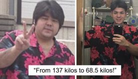 Guy Loses Half Of His Body Weight In A Year And Looks Unrecognizable