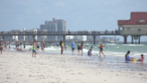 People say Clearwater Beach looks clearer, despite red tide detected