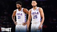Chris Broussard: Joel Embiid isn't trying to push Ben Simmons out of Philly I FIRST THINGS FIRST
