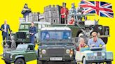 How the Royals made the Land Rover the ultimate status symbol