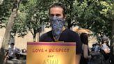 停止仇恨、不要殘酷 外族裔聲援亞裔