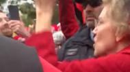 Elizabeth Warren Joins Teachers' Strike in Chicago
