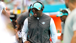 Dolphins' Brian Flores addresses Tua, Fuller, running game, other issues