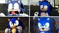 Sonic The Hedgehog Movie Choose Favorite Design 3 (uh meow...)