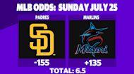Betting: Padres vs. Marlins | July 25