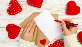 Can't Think of What to Write in a Valentine's Day Card? Read This.