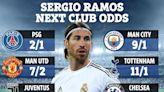 Man Utd second favourites to finally sign Sergio Ramos on free transfer