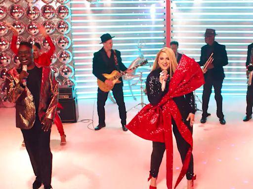 Watch Meghan Trainor Make Her 'Super-Fan Dreams Come True' in Music Video with Earth, Wind & Fire