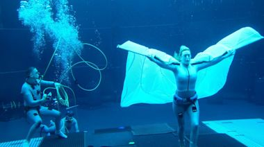 Kate Winslet Shows Off Submerged Acting Chops in Wild Look at 'Avatar 2' Underwater Shoot