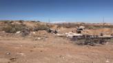Illegal dumpsite appears near Belen Transfer Station