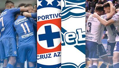 Cruz Azul vs. Puebla EN VIVO: horario y canales para sintonizar el partido por la Liga MX