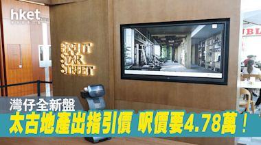 灣仔新盤指引呎價4.78萬!EIGHT STAR STREET再推特色單位招標 - 香港經濟日報 - 地產站 - 新盤消息 - 新盤新聞