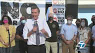 Recall election: Newsom, Elder, Jenner to hold events Monday in SoCal