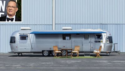 Tom Hanks Bought This Custom Airstream Trailer for His Movie Sets. Now It's Heading to Auction.