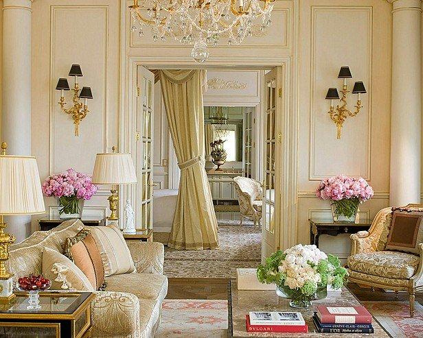 ... -interior-design-french-room-light-colors-eclectic-home-decor-ideas