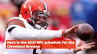 Cleveland Browns 2021 NFL schedule