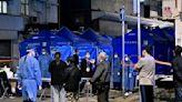 組圖:港府無預警封鎖油麻地 居民遭強制檢疫