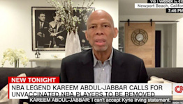 Kareem Abdul-Jabbar Offers Harsh Solution For NBA's Vaccine Refusers
