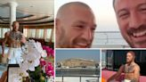 Inside McGregor's yacht as he SAILS to Fight Island ahead of Poirier fight