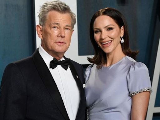 David Foster defends 35-year age gap with fifth wife Katharine McPhee