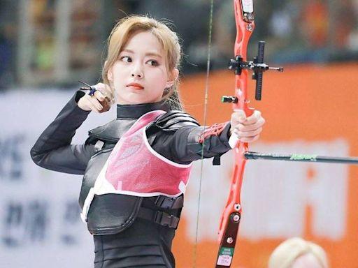 子瑜射箭畫面瘋傳 網友以為「東奧選手」狂告白!