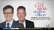 Bruce Springsteen Returns To 'Late Show With Stephen Colbert'