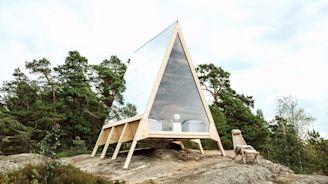 北歐城市露營體驗:芬蘭極簡主義 零排放度假小屋