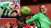 Watch Ter Stegen blast former team-mate Suarez after he tries to cheat penalty
